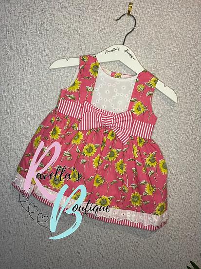 Reava sunflower dress