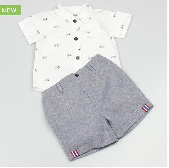 Rowan shirt and shorts set