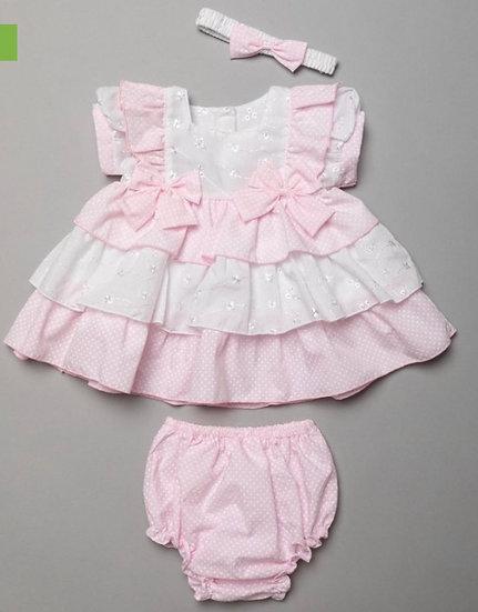 Brodie dress set - pink