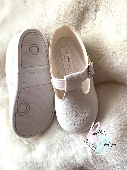 Unisex walking shoes (with soles) - white
