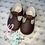 Thumbnail: Brown baypod shoes size 2