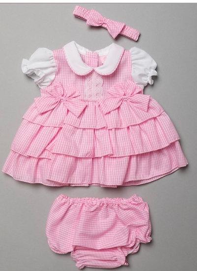 Annabelle gingham dress set