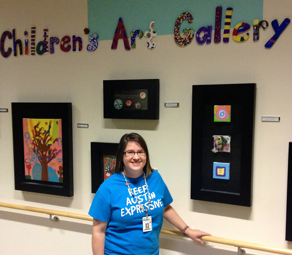 Elizabeth Hendley, MA, ATR-BC Art Therapist Dell Children's Medical Center