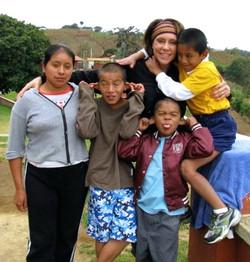 Deanna in Guatemala
