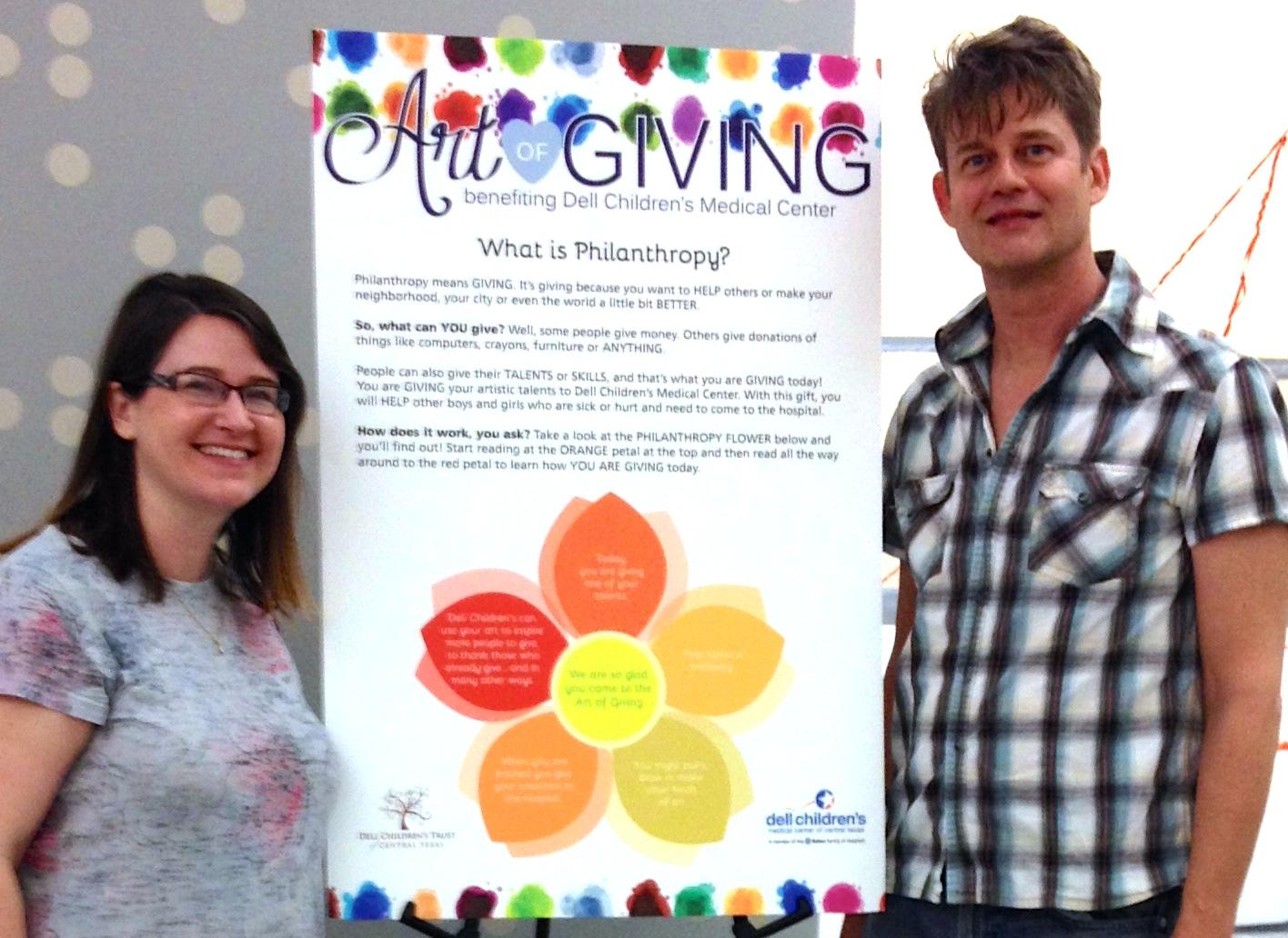 Dell Children's Trust Art of Giving