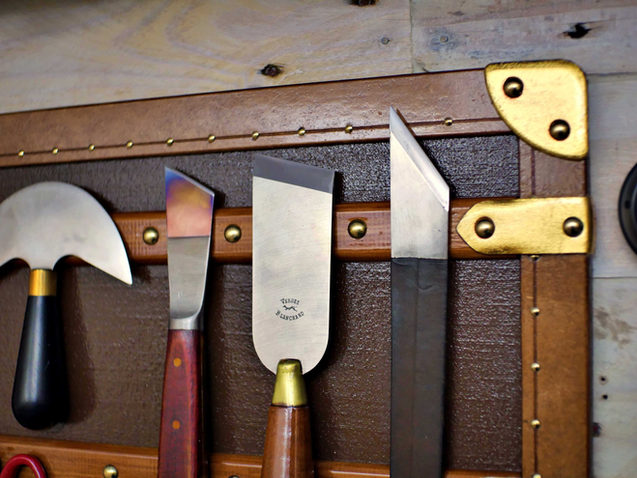 Details Make Perfection: Trunk Tool Wall
