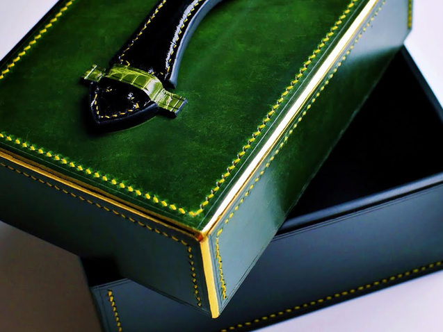 Solid Leather Box Making Pts 1&2