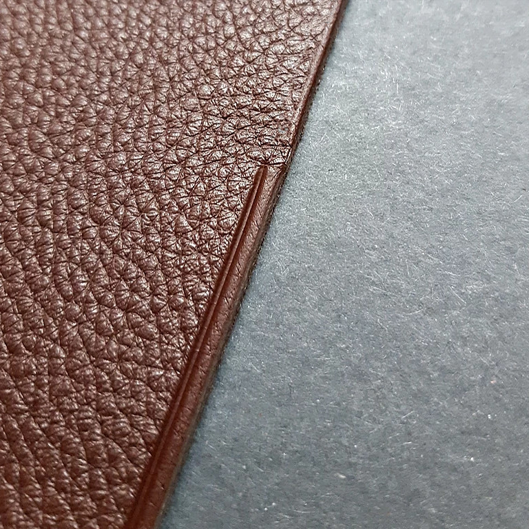 chrome tanned leather brown