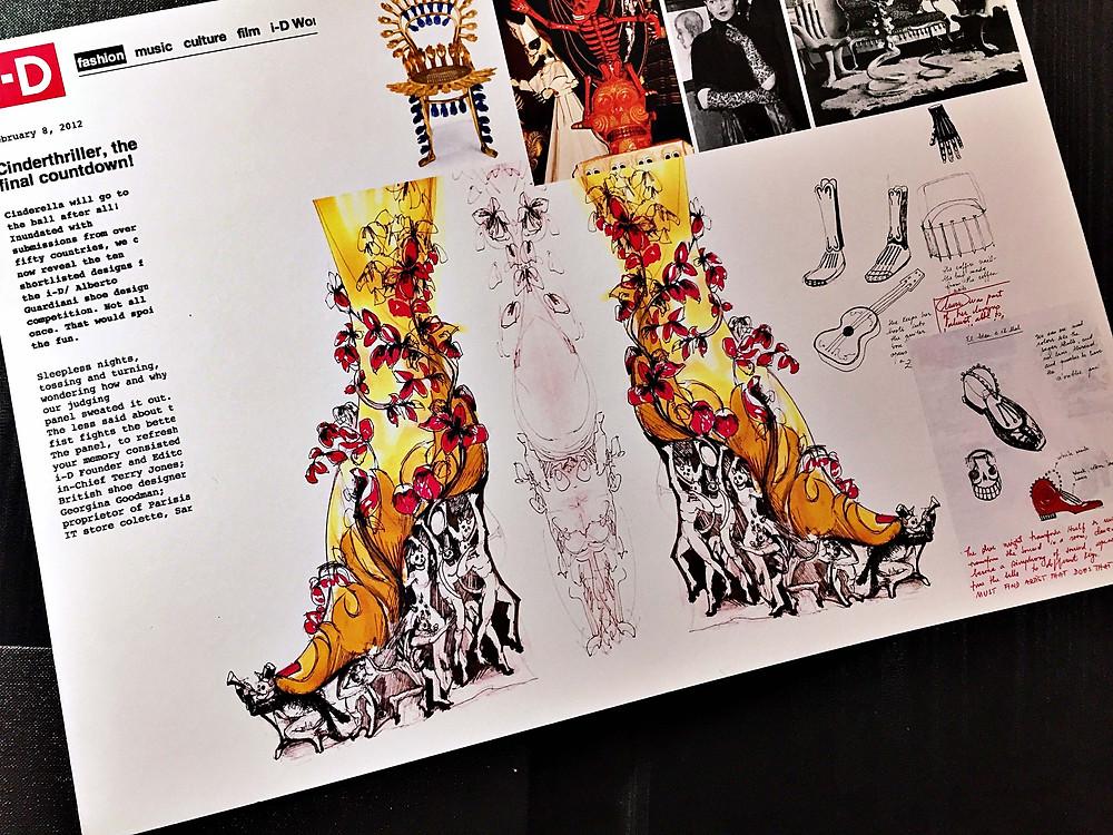 Designing shoes