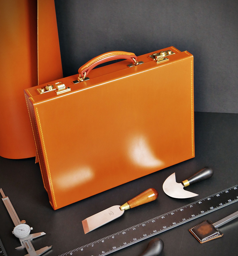 Making of the Bloomsbury Attache Case