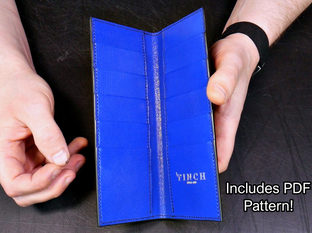 Latest Course- The Slimline Coat Wallet