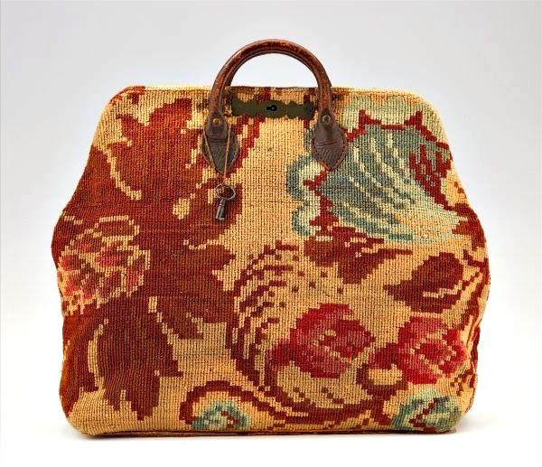 carpet bag making