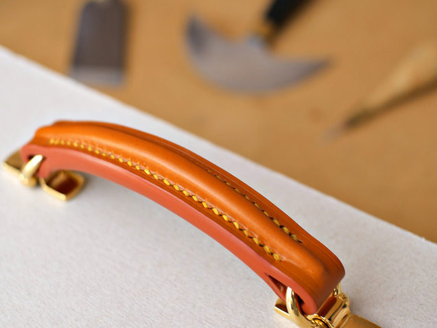 The Bloomsbury Attache Case: Handle Making Pt 2