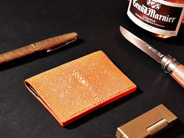 Stingray Skin Card Wallet