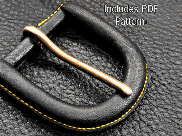 The Traditional Leather Wrapped Belt Buckle Pt 1