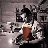 The Bespoke Leather Apron._._Protecting