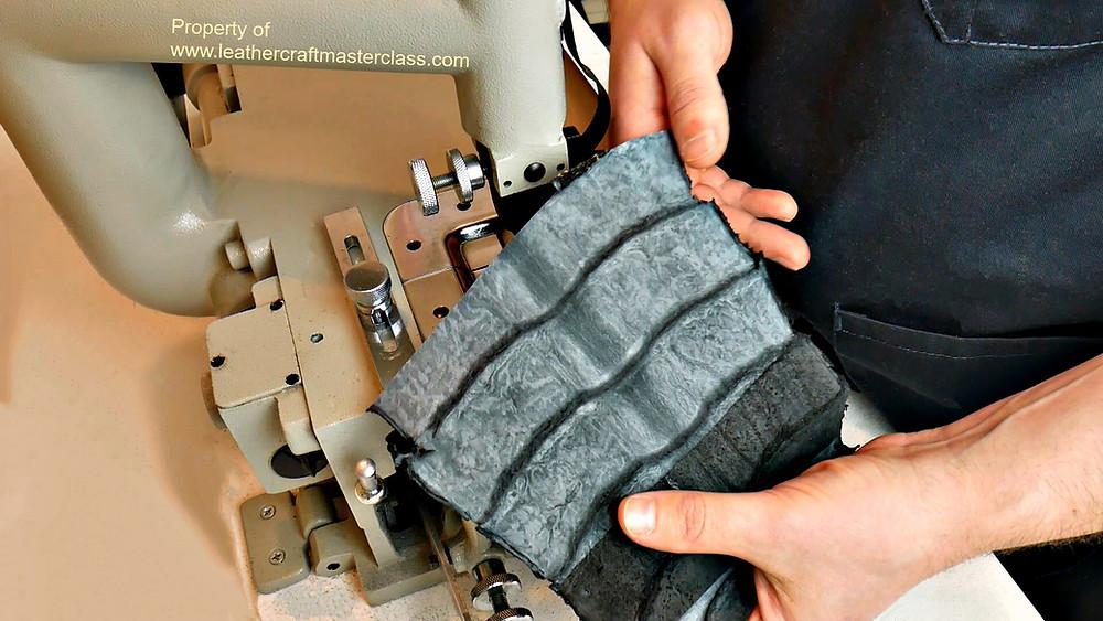 how to skive alligator crocodile leather skin