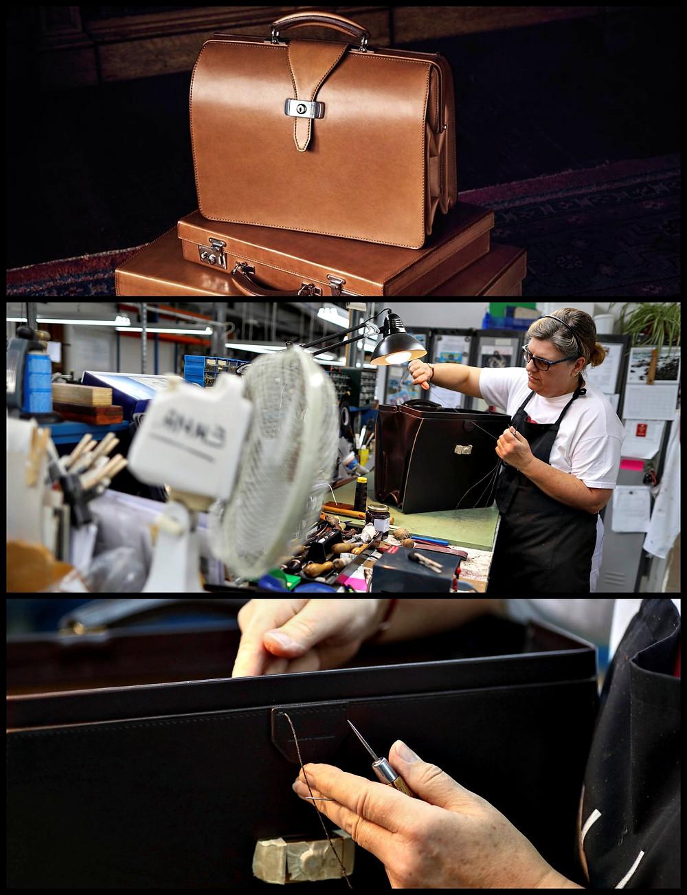 top frame briefcase