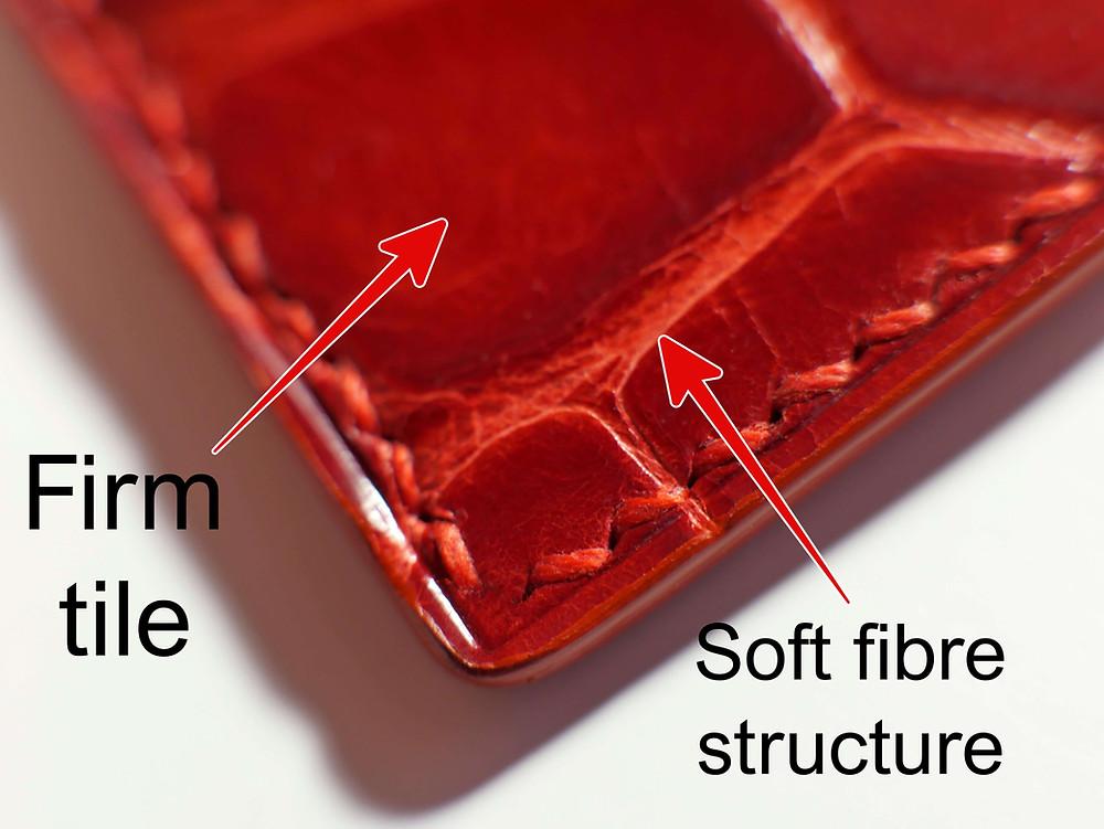 saddle stitch exotic skins