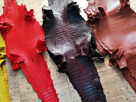 How To Work With Alligator & Crocodile Leather. Techniques Explained!