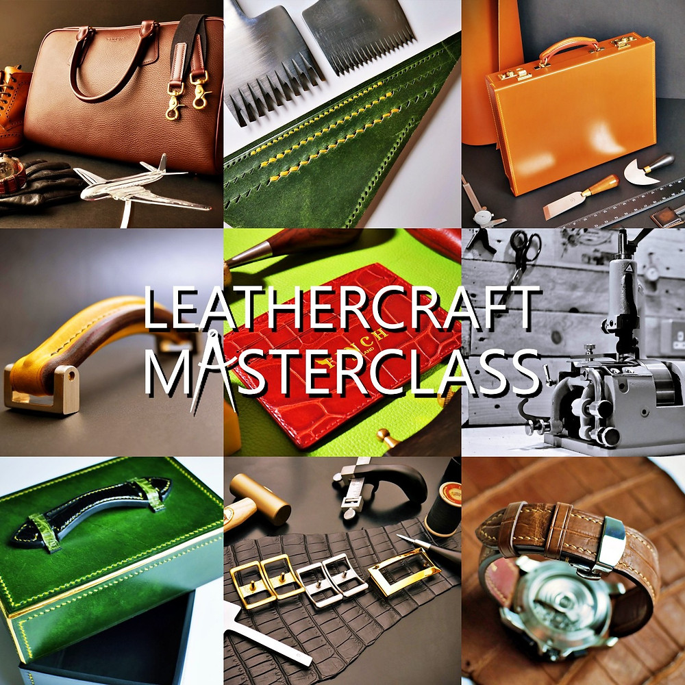 Online fine leathercraft video courses- Leathercraft Masterclass