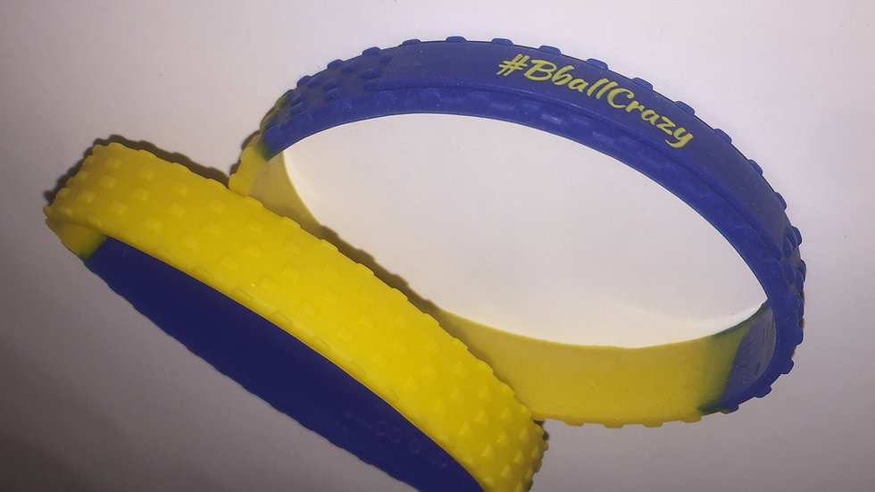 Yellow and Royal Blue (2 bands)
