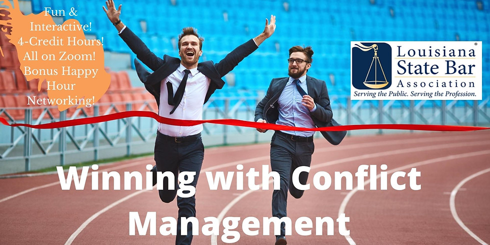 Winning with Conflict Management
