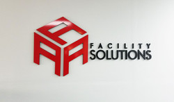 Custom Routed PVC Wall Lettering