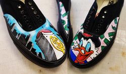 Painted/ Airbrushed Sneakers