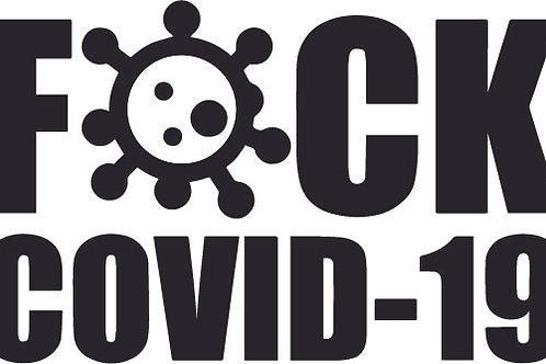 F@CK COVID-19 STICKER