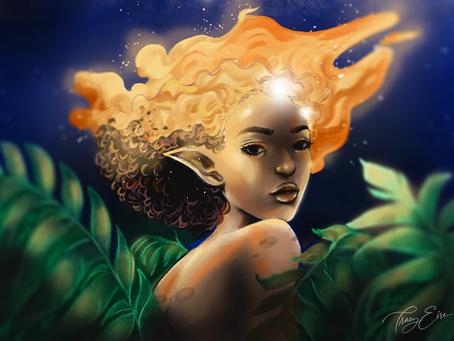 Free art download - 'Genius of Fire'