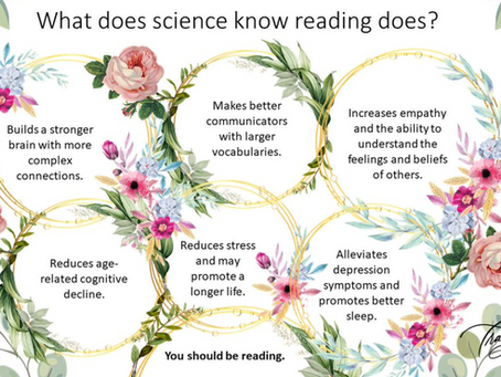 Explain reading to your loved ones...
