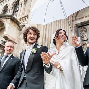 Francesca Rocco e Giovanni Masiero, sposi a Villa Boschi