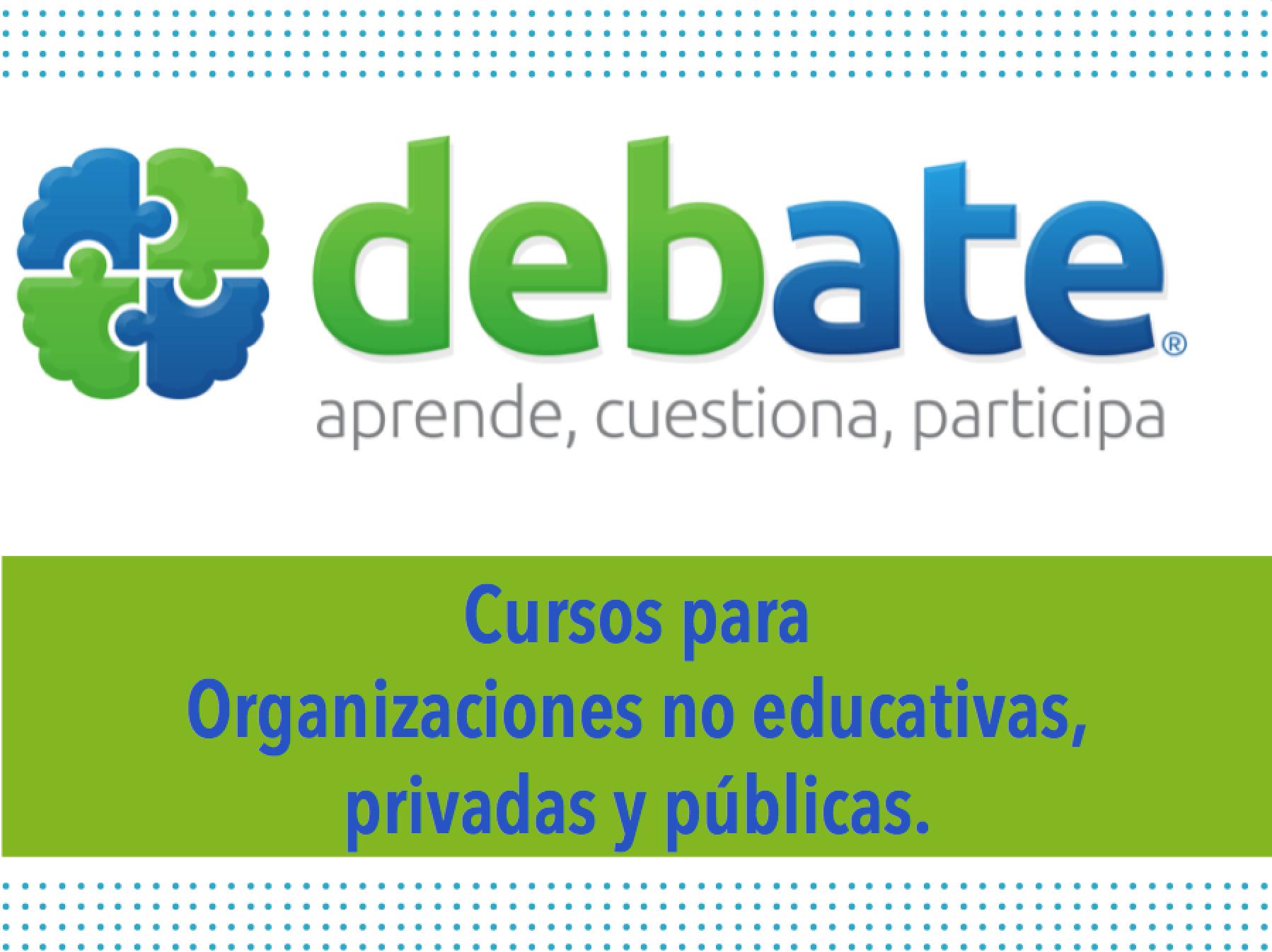 Para organizaciones no educativas