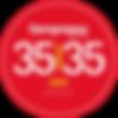 Entrepreneur Magazine 35 under 35 logo