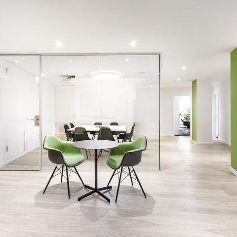 Office Beckenhof -Foyer