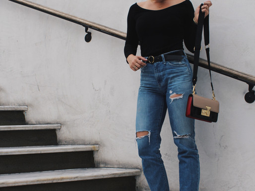 Outfit of the Day: High-Waisted AG Jeans