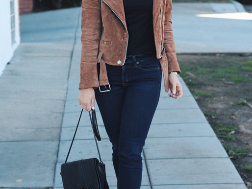 Perfect Suede Jacket
