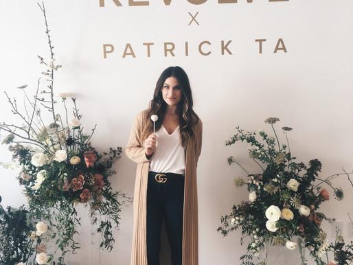 Revolve x Patrick Ta: A Beauty Seminar