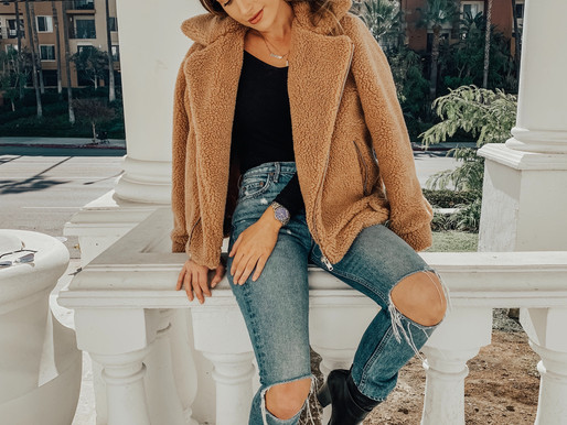 Fall Trend: Teddy Coat