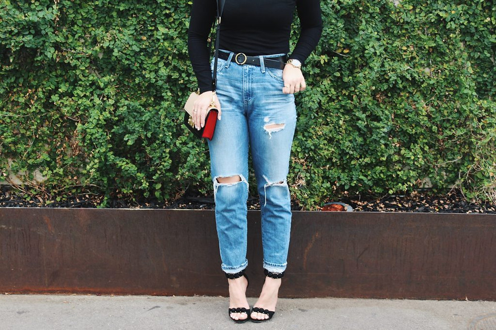 High Waisted AG Jeans