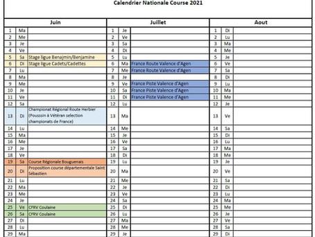 Roller course, retrouver les courses programmées pour la fin de saison 2020-2021