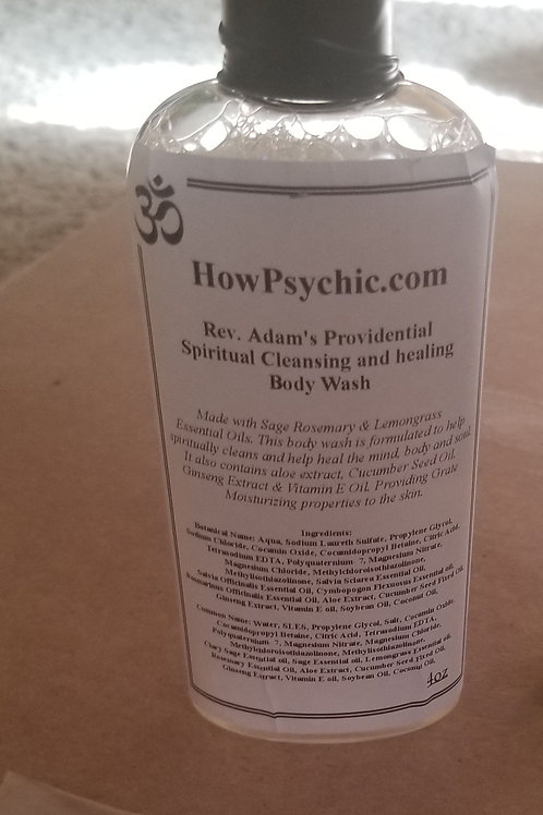 Spiritual Cleansing & Healing Body Wash