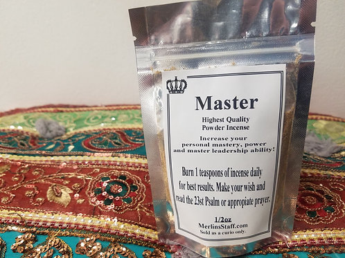 Master Powder Incense
