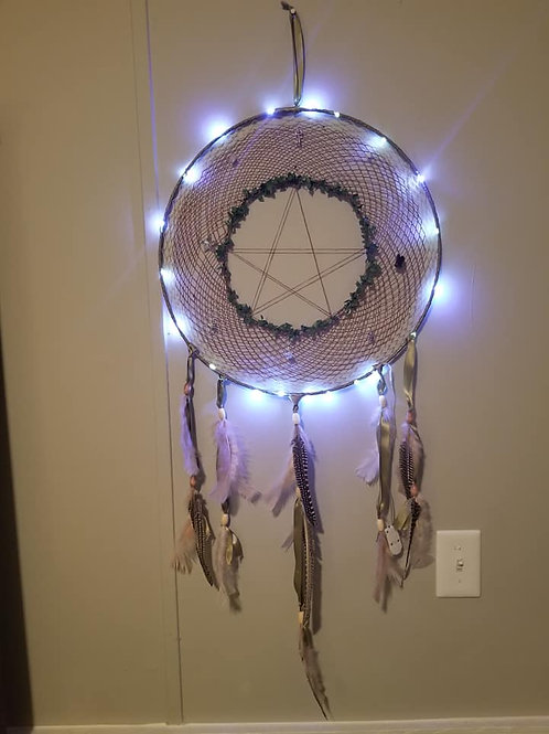 The Green Witch Dreamcatcher (Custem Made)