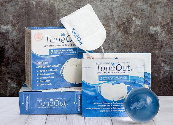 TuneOut™ Warming Mineral Eye Rescue 3 Box Bundle