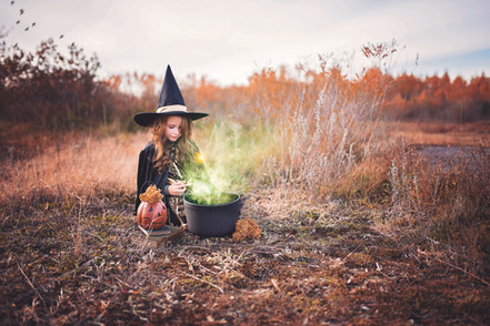 Herfst / Halloween wandelroute