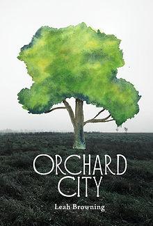 Orchard City chapbook cover - Hyacinth Girl Press