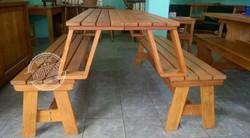 Cod.2510 - banco mesa area externa - Foto1
