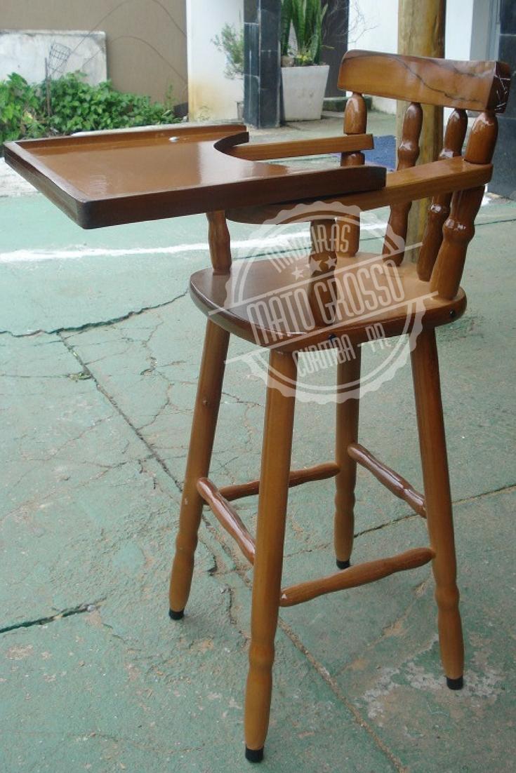 Cod.2184 - cadeira de bebê torneada